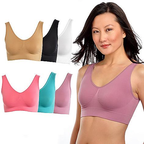 000-043 - Comfortisse™ Perfect Fit Set of Six Seamless Bras