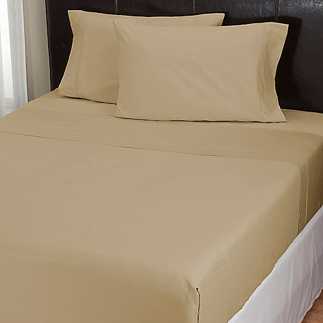 000-058 - EasySheet® 500TC Cotton Sateen Four-Piece Sheet Set