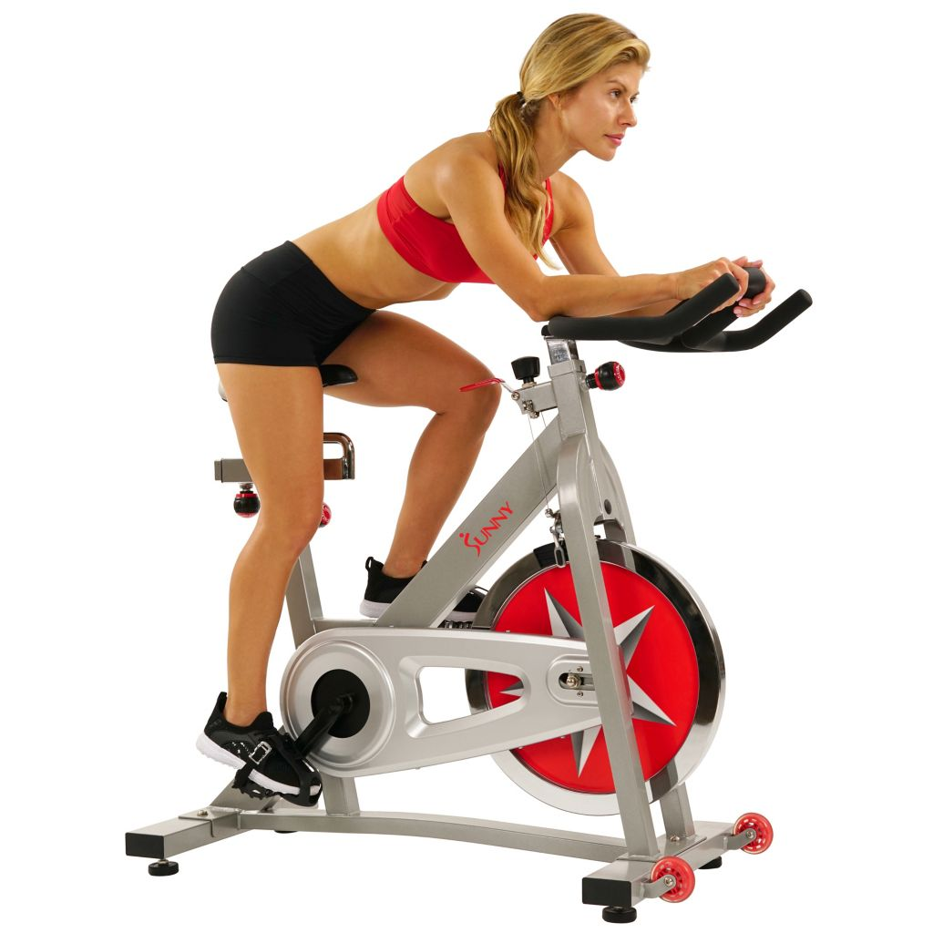 000-354 - Sunny Health and Fitness Pro Indoor Cycling Bike