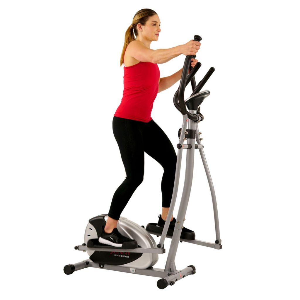 000-355 - Sunny Health and Fitness Magnetic Elliptical Trainer