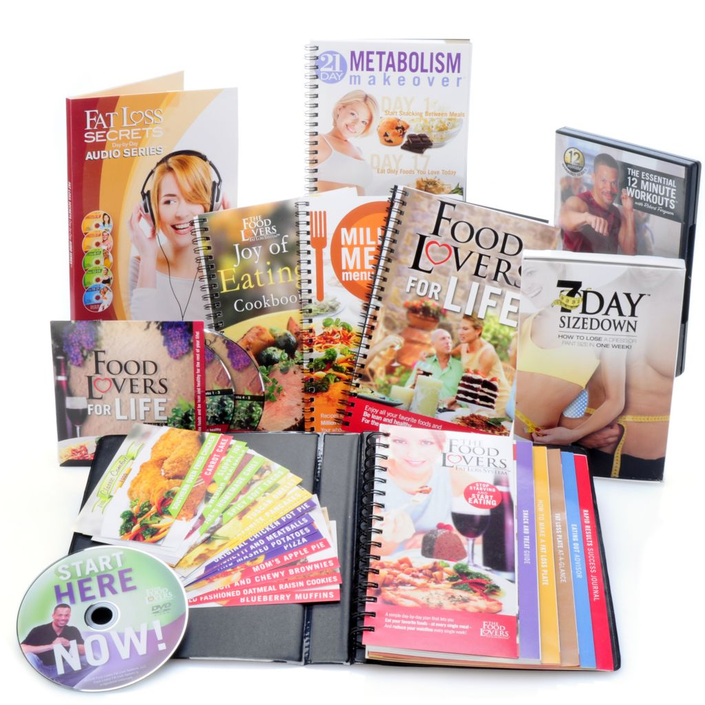 000-441 - Food Lovers Fat Loss System® w/ Menu Planner, 21-Day Metabolism Makeover & More
