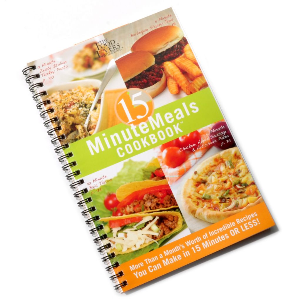 000-443 - The Food Lovers Fat Loss System 15 Minute Meals[ Cookbook