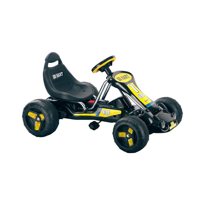 000-474 - Lil' Rider™ Black Stealth Pedal Powered Go-Kart