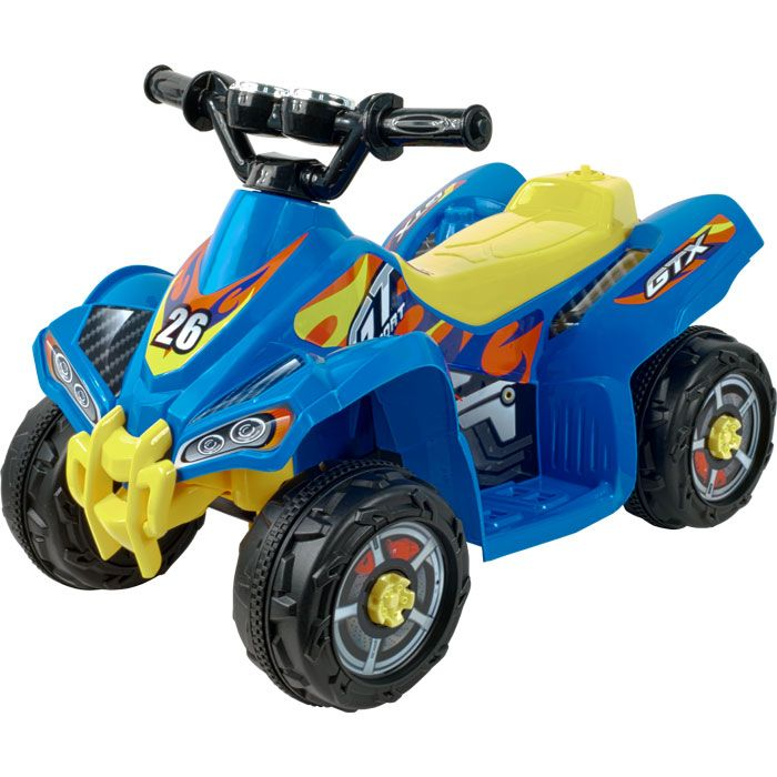 000-475 - Lil' Rider™ Blue Bandit GT Sport Battery Operated ATV