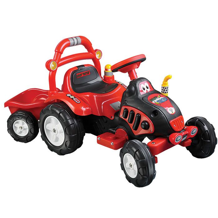 000-483 - Lil' Rider™ Battery Powered King Tractor & Trailer