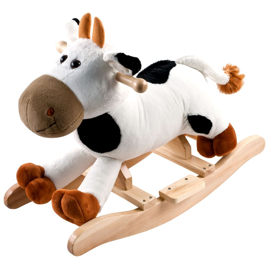 000-498 - Happy Trails™ Plush Rocking Connie Cow