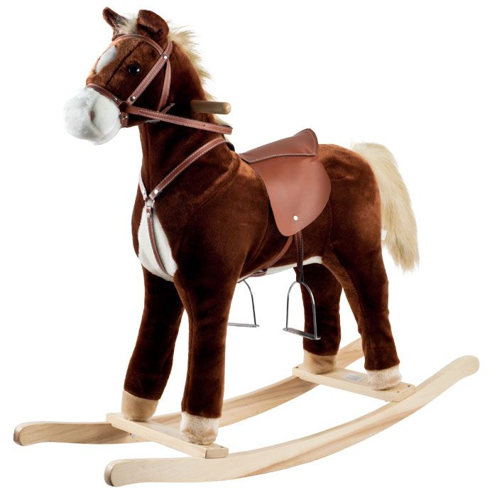 000-500 - Happy Trails™ Plush Rocking Horse