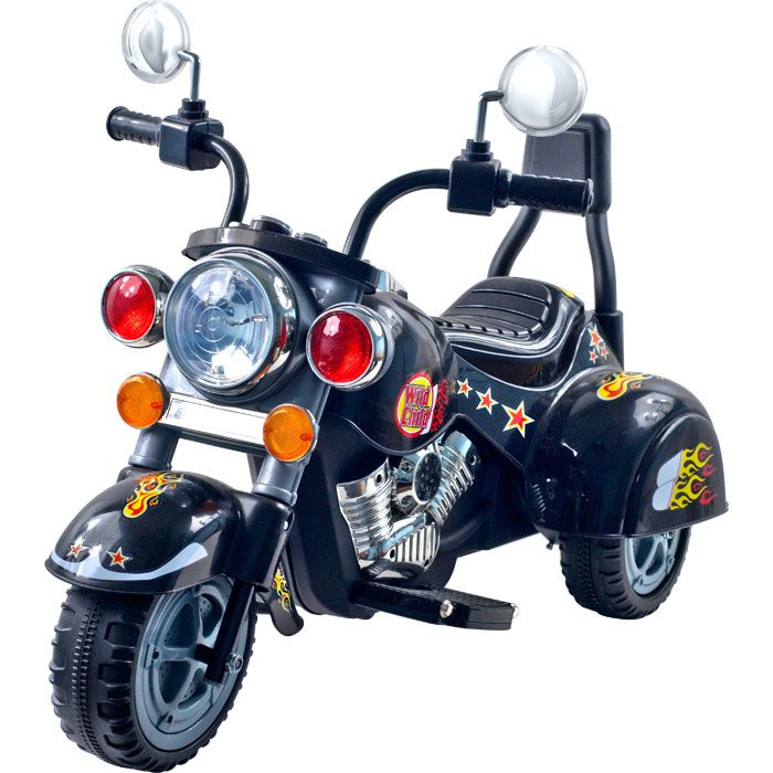 000-508 - Lil' Rider™ Road Warrior Black Motorcycle