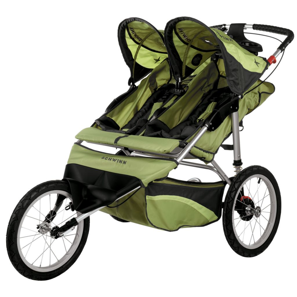 000-552 - Schwinn Arrow Double Seat Fixed Jogger