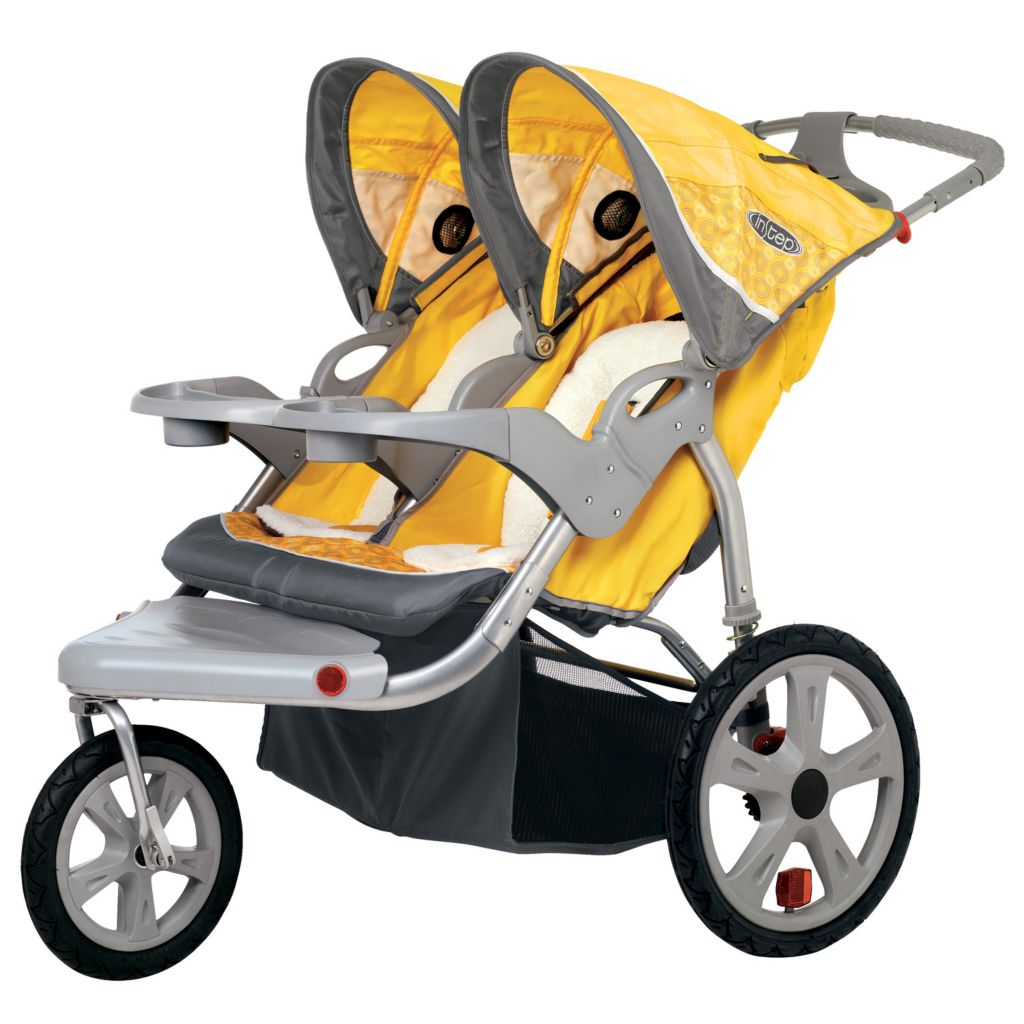 000-556 - InStep Grand Safari Double Seat Swivel Jogger