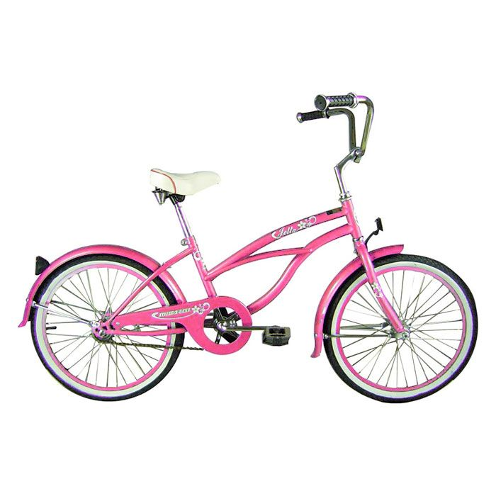 000-567 - Micargi® Pink Jetta Beach Women's Cruiser Bike