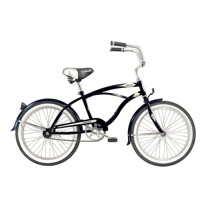 000-572 - Micargi® Black Jetta Beach Men's Cruiser Bike