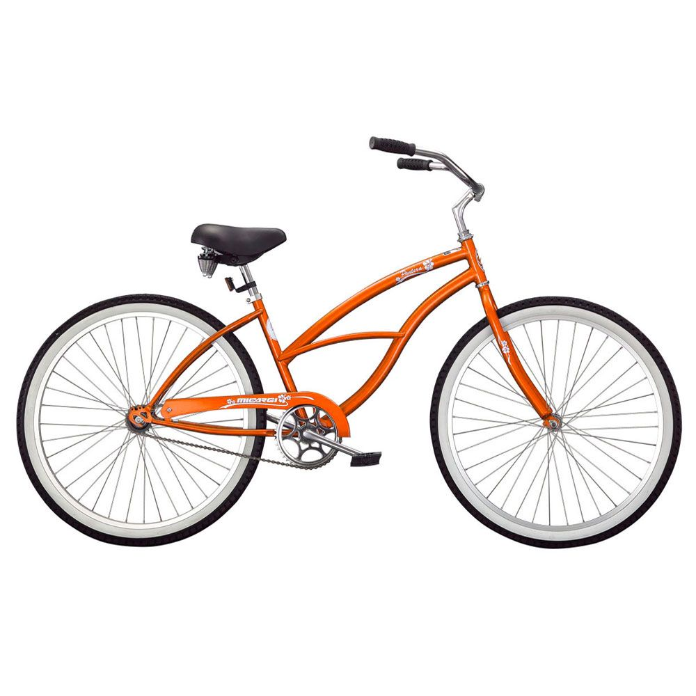 000-575 - Micargi® Orange Pantera Beach Women's Cruiser Bike