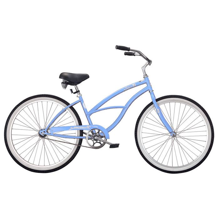 000-579 - Micargi® Baby Blue Pantera Beach Women's Cruiser Bike