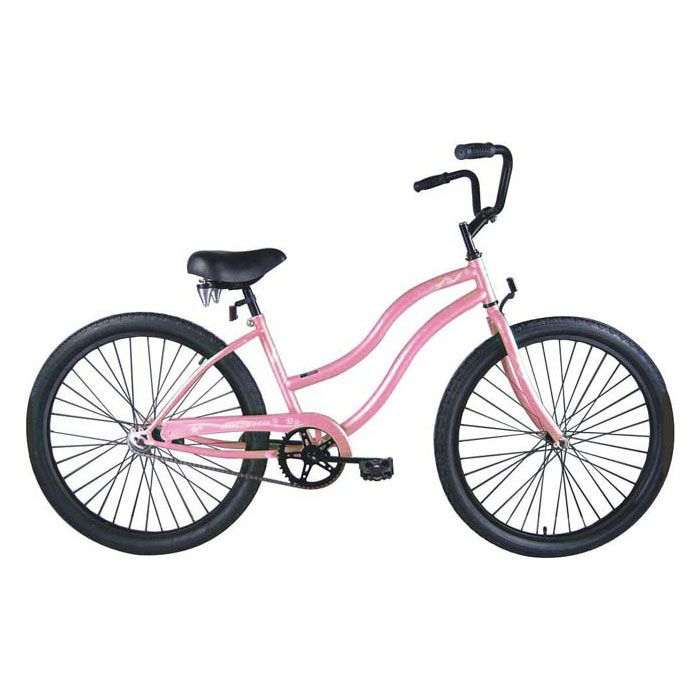 000-591 - Micargi® Pink Touch Women's Beach Cruiser Bike