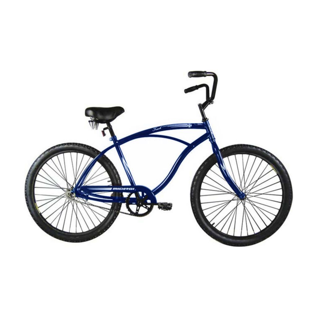 000-596 - Micargi® Blue Touch Men's Beach Cruiser Bike