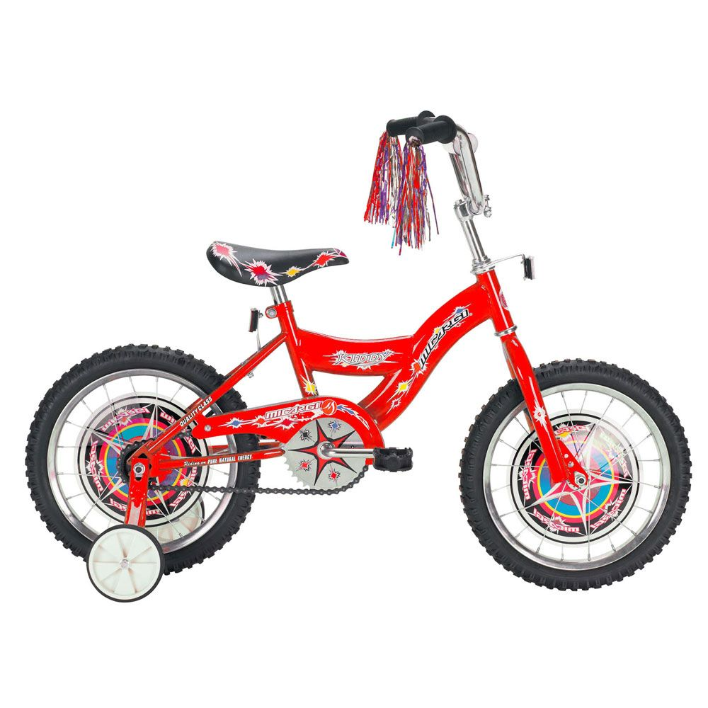 000-611 - Micargi® Red Kiddy BMX Boy's Bike
