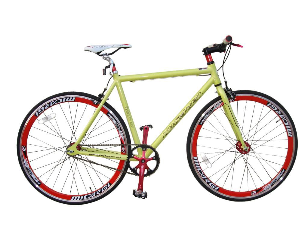 000-784 - Micargi® Unisex RD-818 Fixed Gear 53cm Bike