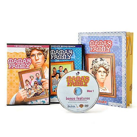 000-803 - ''Mama's Family'' Seasons One & Two Complete Episodes w/ Bonus Features & Memory Booklet