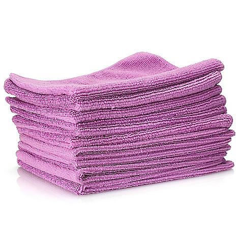 000-829 - SuperClean® Set of 10 Microfiber Cloths