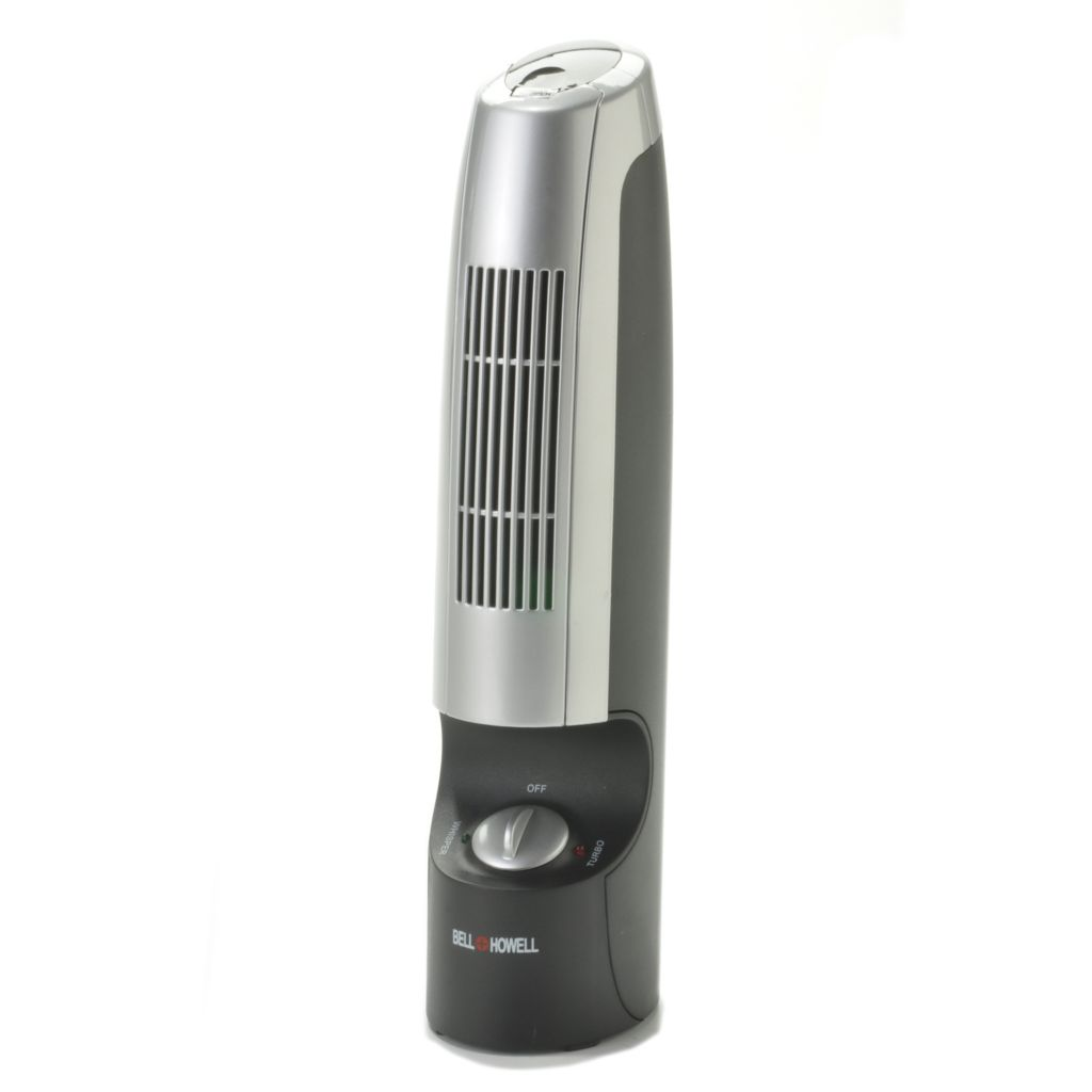 000-831 - Bell & Howell® Ionic Whisper™ 7W Portable Air Purifier & Ionizer