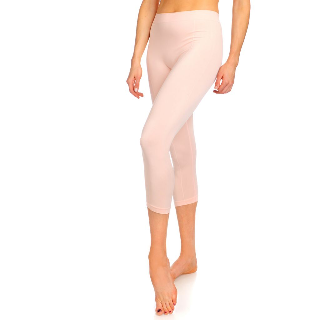 000-843 - Slim 'N Lift INFUSED™ Stretch Pajama Bottoms w/ Skincarewear™ Renewing Spray