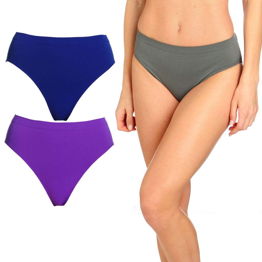 000-852 - Slim 'N Lift AIRE™ Set of Three Seamless Smoothing Panties