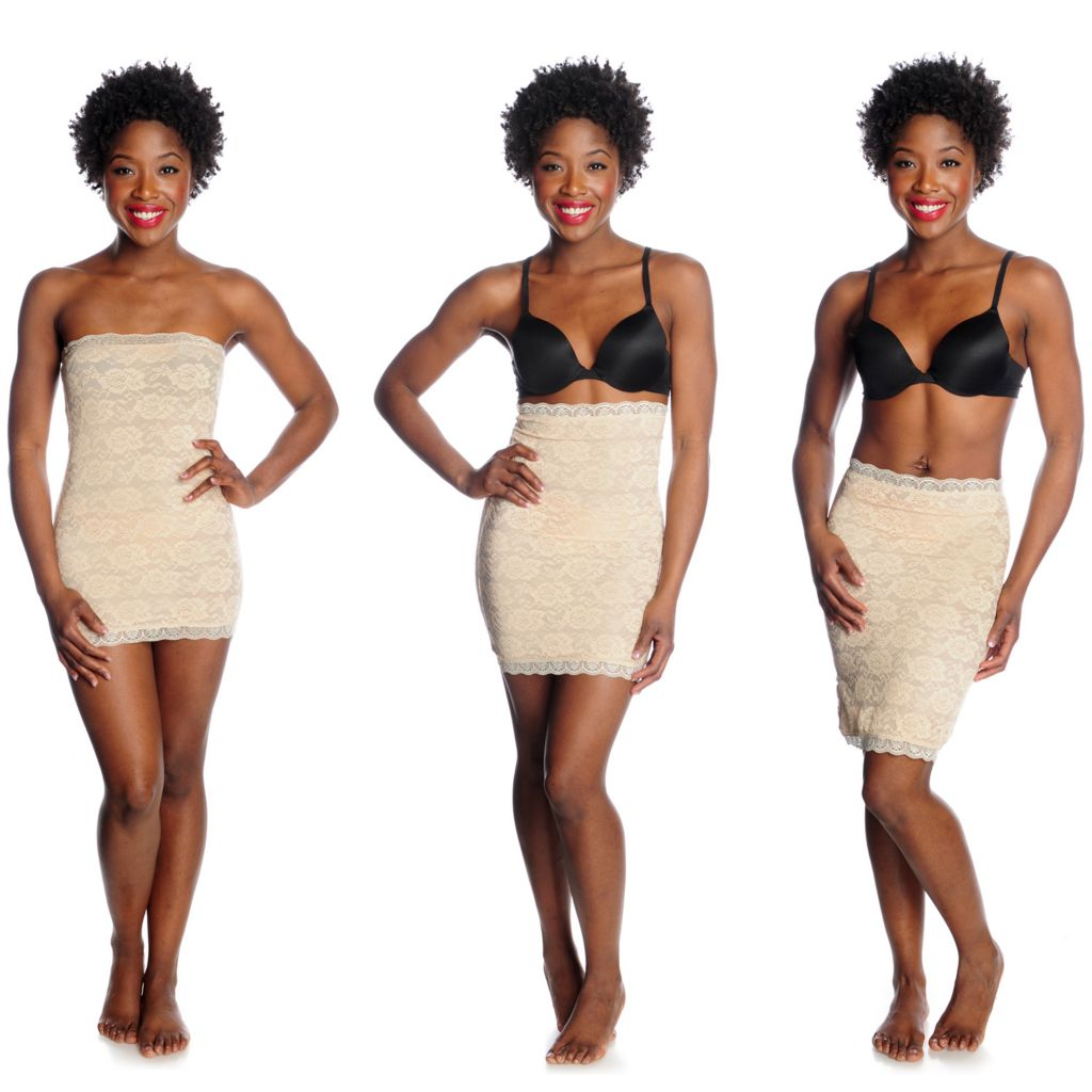 000-853 - Slim 'N Lift AIRE™ Stretch Lace 3-in-1 Smoothing Slip
