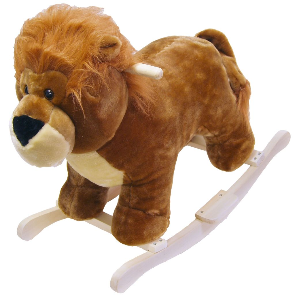 000-878 - Happy Trails™ Leo the Plush Rocking Lion