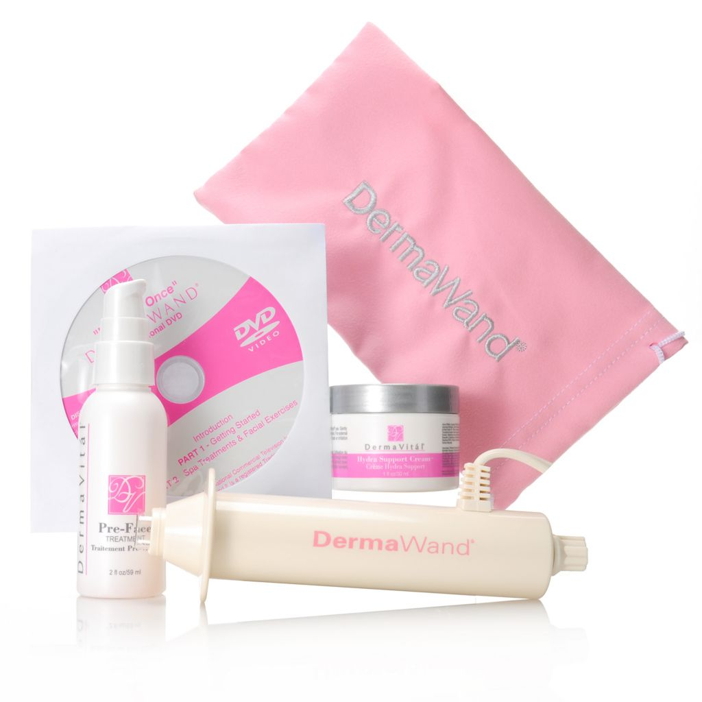 000-879 - DermaWand® Three-Piece Anti-Aging Essentials Kit w/ Carrying Bag & DVD