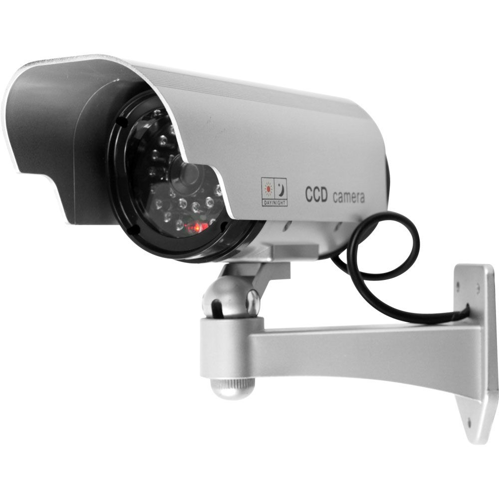 000-889 - Security Camera Decoy w/ Blinking LED & Adjustable Mount