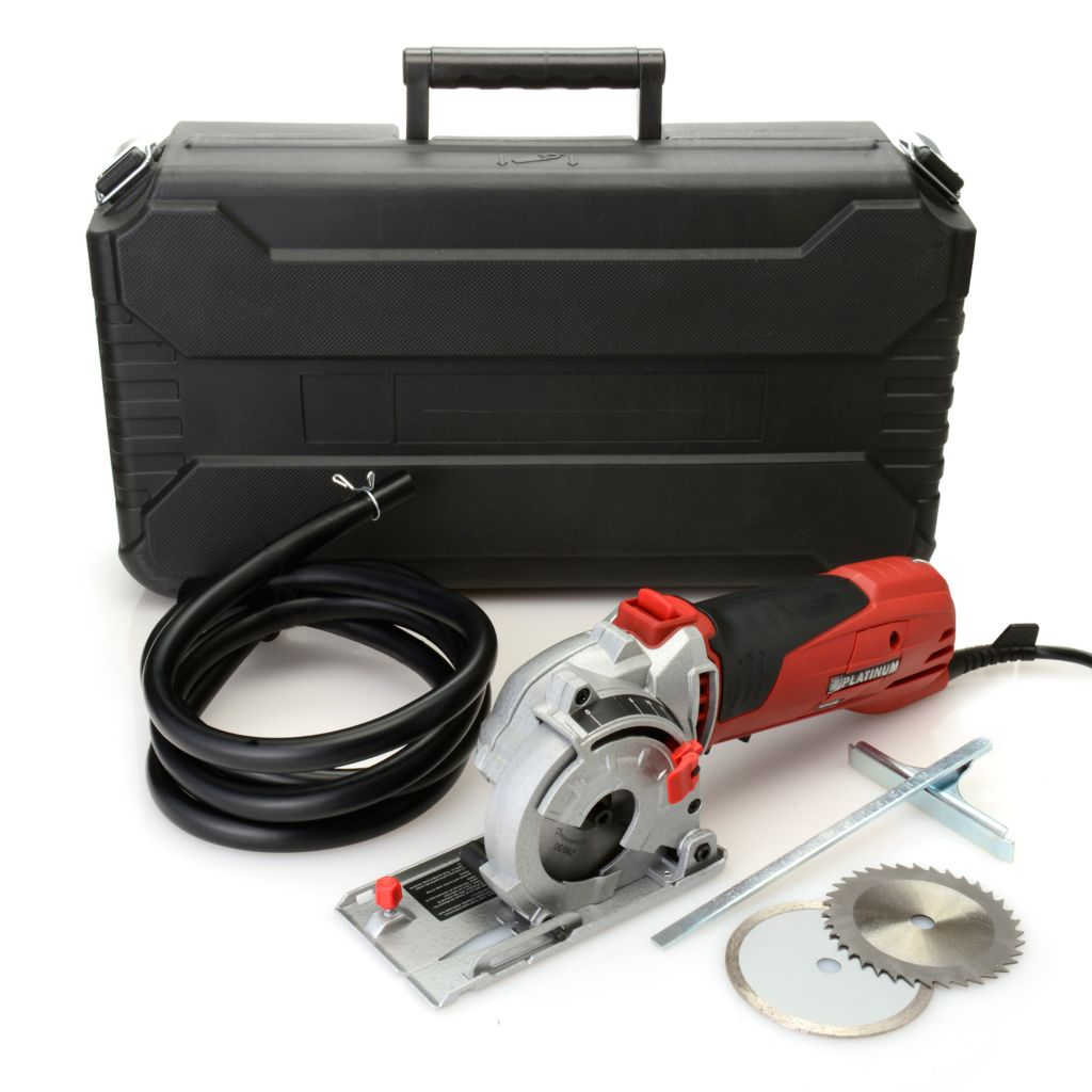 000-892 - Rotorazer Saw® Platinum 8-Piece 4500W 3400RPM Circular Saw & Storage Case Set