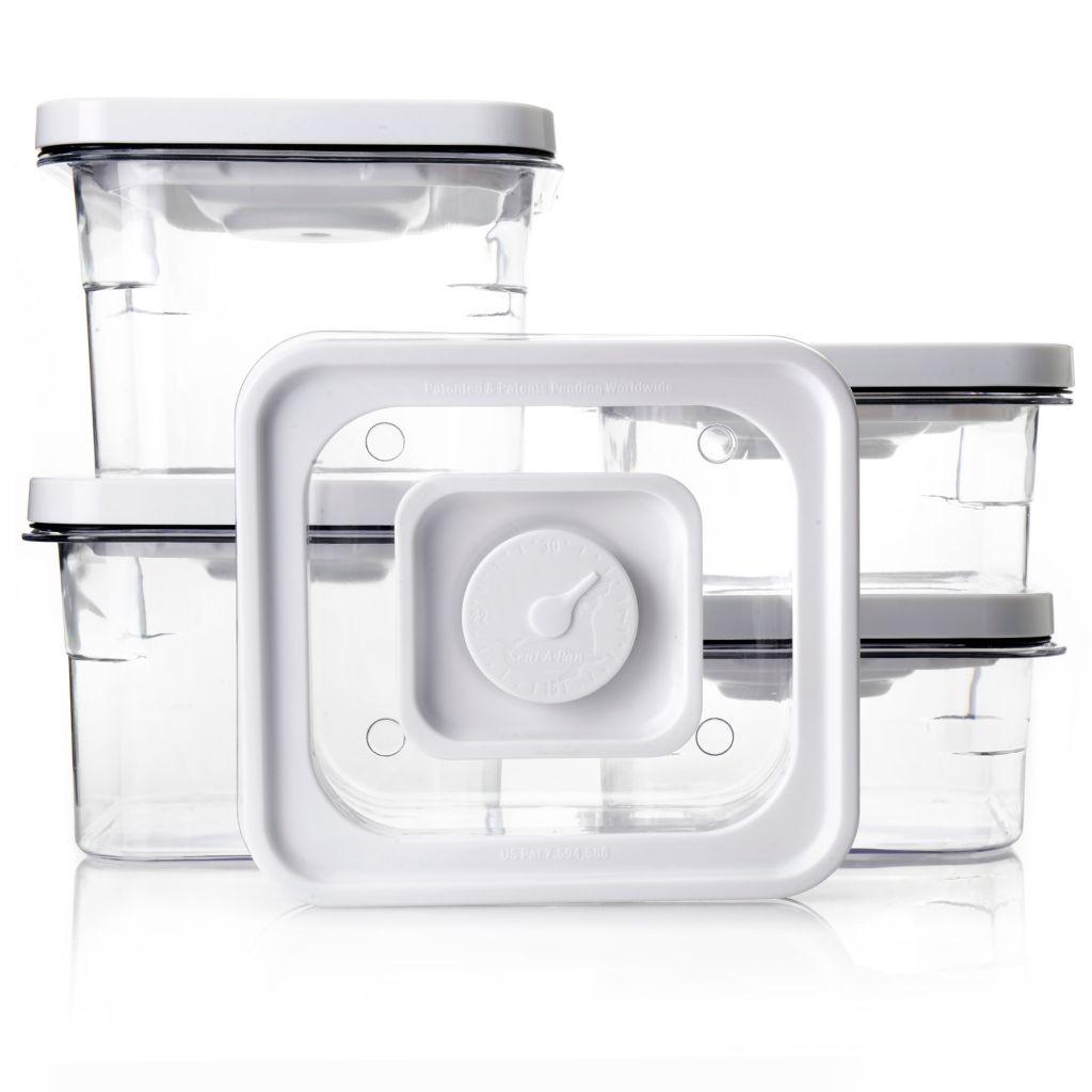 000-928 - Modular VacTainers™ BPA-Free 10-Piece Stackable Food Storage Containers