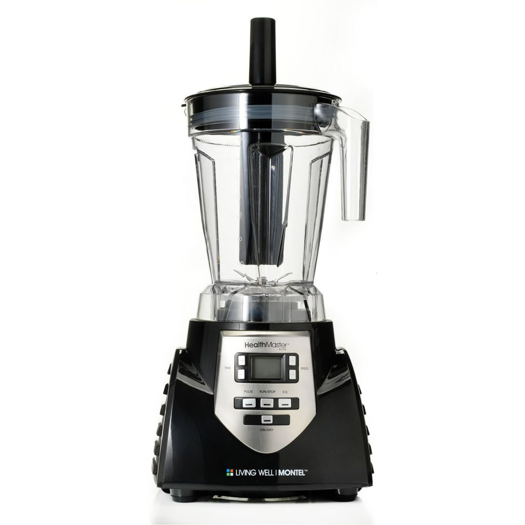 000-935 - HealthMaster™ Elite 1200W 60 oz Eight-Speed Emulsifier w/ Recipe Booklet