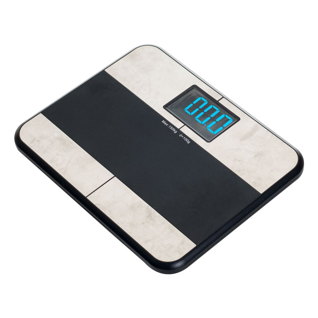 000-937 - Remedy Bluetooth BMI Digital Bathroom Scale w/ iPhone App