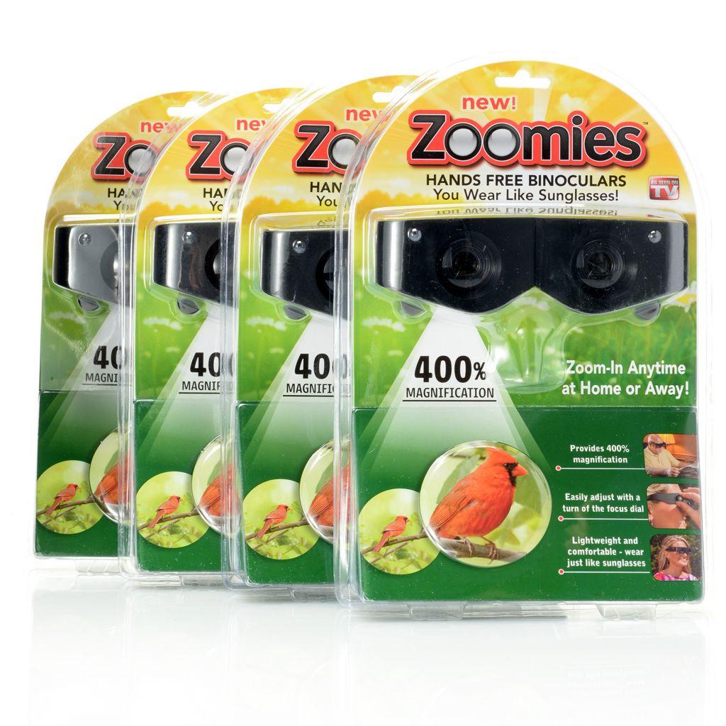 000-967 - Zoomies™ Set of Four Hands-Free Adjustable Binoculars