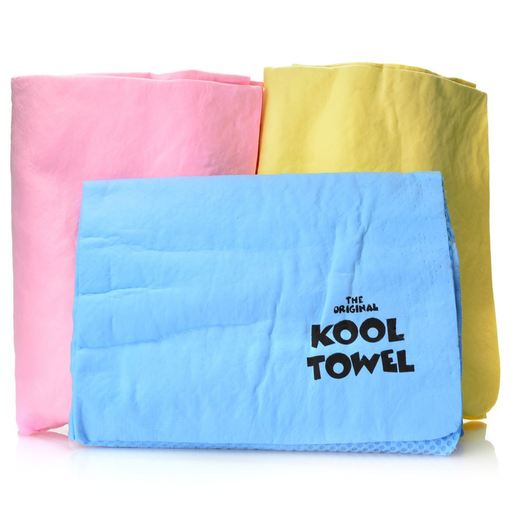 001-003 - The Original Kool Towel Hyper-Evaporative Three-Piece Towel Set