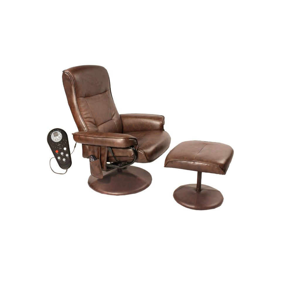 001-048 - Comfort Products Eight-Motor Massage Leisure Recliner Chair w/ Heat