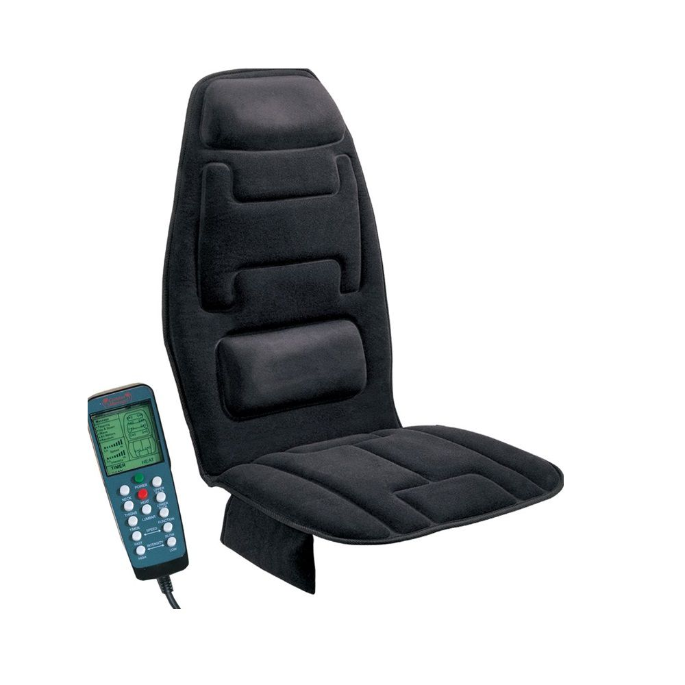001-053 - Comfort Products 10-Motor Massage Seat Cushion w/ Heat