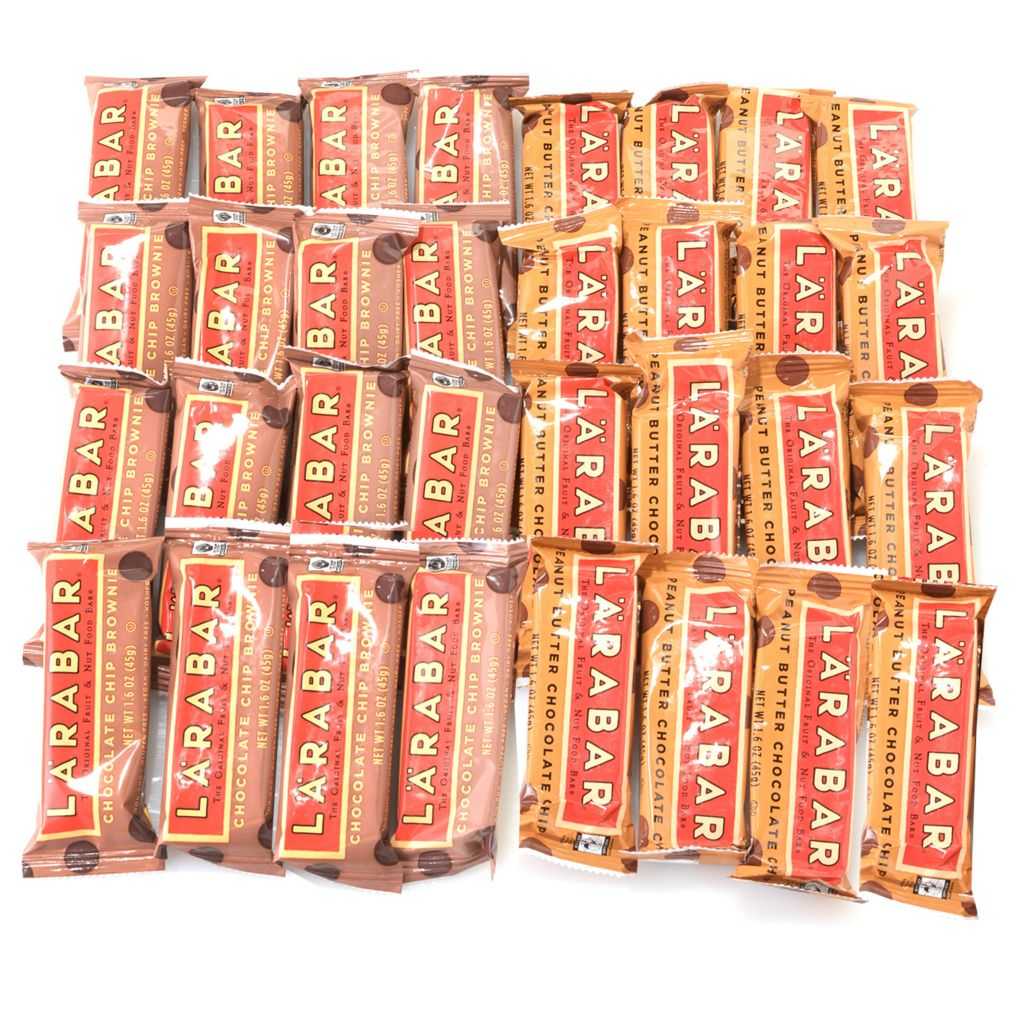 001-071 - LARABAR® Chocolate Lovers 32-Piece Assorted Fruit & Nut Food Bars
