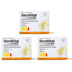 SeroVital Advanced Anti-Aging & Dietary Supplement (Choice of Supply)