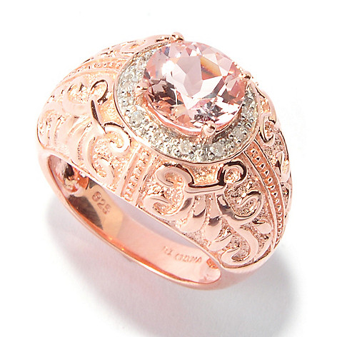 116-045 - NYC II 1.66ctw Morganite & Diamond Ring