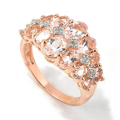 117-072 - NYC II™ 2.80ctw Morganite & Diamond Ring