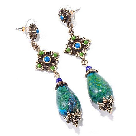 117-269 - Sweet Romance™ Vintage-Inspired Teardrop Bead Earrings
