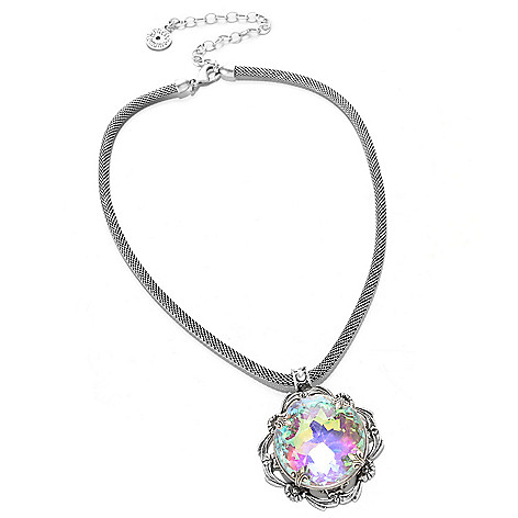 117-426 - Sweet Romance 16'' Iridescent Crystal 1940s-Inspired Necklace