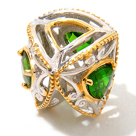 120-547 - Gems en Vogue II Chrome Diopside ''Trillion'' Charm