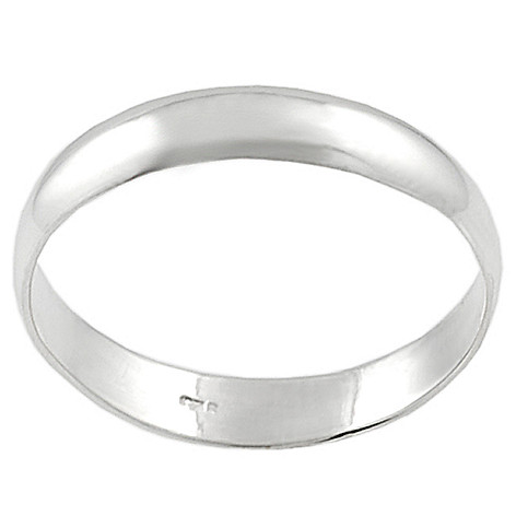 123-691 - Tressa Sterling Silver Thin Band Ring