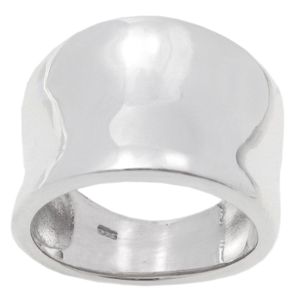 123-693 - Tressa Sterling Silver Tapered Ring
