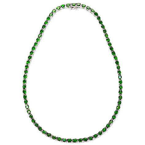 125-140 - NYC II™ Chrome Diopside Tennis Necklace