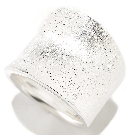 125-243 - SempreSilver® Satin Finished Concave Ring